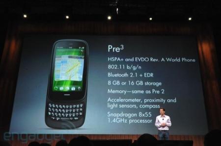 Palm/HP Pre 3